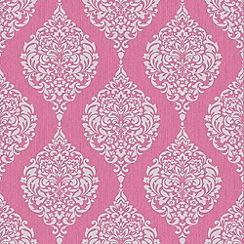 Superfresco - Hot Pink Luna Wallpaper