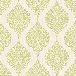 Superfresco - Green Luna Wallpaper