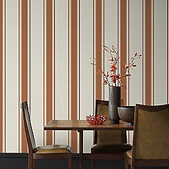 Superfresco - Burnt Orange Orla Wallpaper