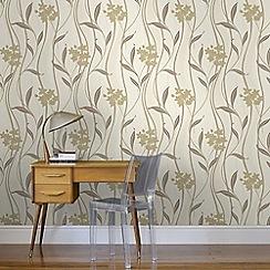Superfresco - Natural Elise Wallpaper