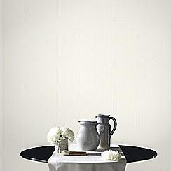 Superfresco - White Corduroy Wallpaper