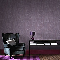 Boutique - Purple Crushed Silk Wallpaper