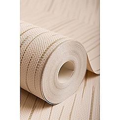 Superfresco - Neutral Stria Stripe Wallpaper