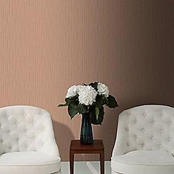 Superfresco - Copper Stria Texture Wallpaper
