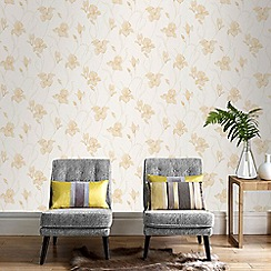 Boutique - Natural Iris Wallpaper