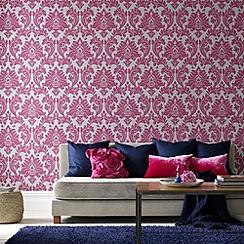 Superfresco Easy - Hot Pink Majestic Wallpaper