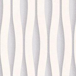 Superfresco Easy - White & Silver Lucid Wallpaper