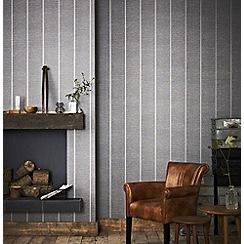 Superfresco Easy - Charcoal prairie wallpaper