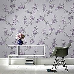 Boutique - Plum Mercutio Wallpaper
