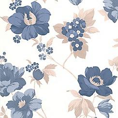 Superfresco Easy - Blue Eden Wallpaper