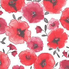 Superfresco Easy - Red Poppies Wallpaper