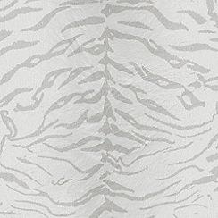 Premier - White/Silver Tiger Wallpaper