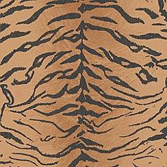 Boutique - Orange Tiger Wallpaper