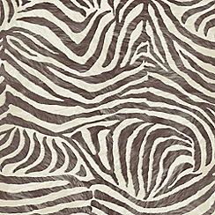 Boutique - Brown/Beige Zebra Wallpaper