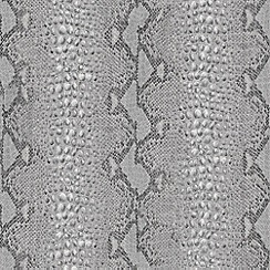Boutique - Grey Snake Wallpaper