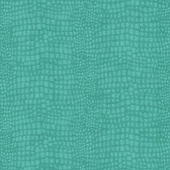 Boutique - Turquoise Crocodile Wallpaper