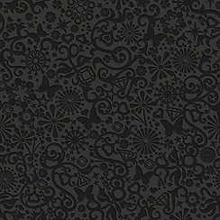 Marcel Wanders - Black Petit Pappilon Wallpaper
