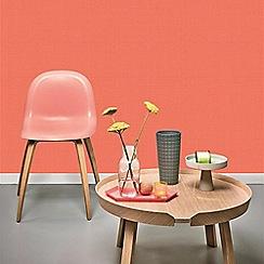 Superfresco Easy - Orange Plain Textile Wallpaper