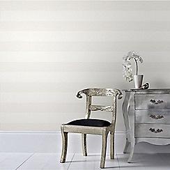 Superfresco Easy - Cream Calico Stripe Wallpaper