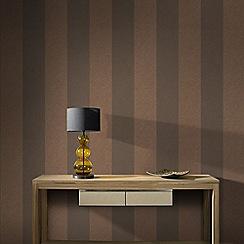 Boutique - Copper Artisan Stripe Wallpaper
