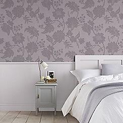 Boutique - Light Purple Mystique Floral Wallpaper