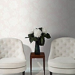Graham & Brown - Pearl Mystique Floral Wallpaper