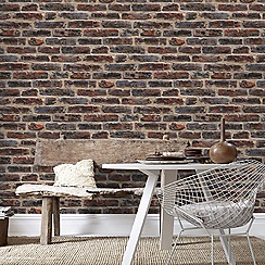 Superfresco Easy - Red Brick Style Wallpaper