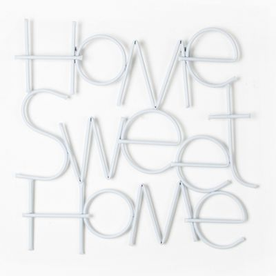 Graham U0026 Brown   Metallic Sweet Home Wall Art