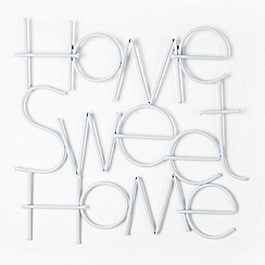 Graham & Brown - Metallic sweet home wall art