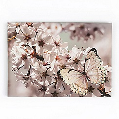 Graham & Brown - Butterfly branch with glitter wall art