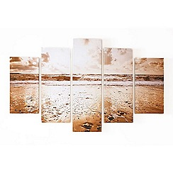 Graham & Brown - Sunrise beach canvas wallart