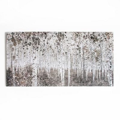 Graham brown neutral watercolour woods printed canvas wall art debenhams