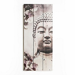 Graham & Brown - Buddha Wooden Print Wall Art