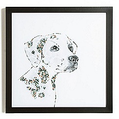 Graham & Brown - Dalmatian Dog Framed Print Wall Art
