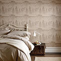 Graham & Brown - Latte Mirage wallpaper