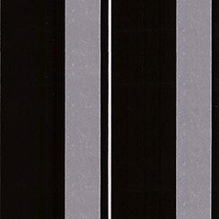 Graham & Brown - Tuxedo Flock Star Stripe flock wallpaper