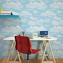 Fresco - White Cloud Wallpaper