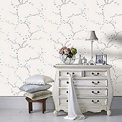 Fresco - Natural Apple Blossom Tree Wallpaper