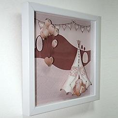 Graham & Brown Kids - Graham & Brown Eleflump Layered Framed Print