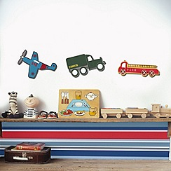 Graham & Brown Kids - Transportation Foam Elements