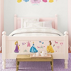 Disney - Pink Disney Princess Small Wall Sticker Pack