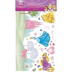 Disney - Multicoloured Princess Static Window Stickers