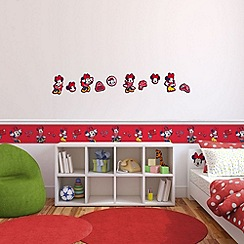 Disney - Red Minnie Mouse Foam 10 pieces