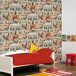 Disney - Mickey Mouse Vintage Wallpaper