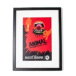 Disney - Red Animal Framed Print