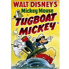 Disney - Tugboat Mickey Canvas