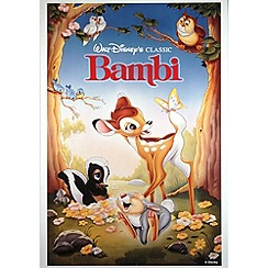 Disney - Disney Bambi 1988 canvas