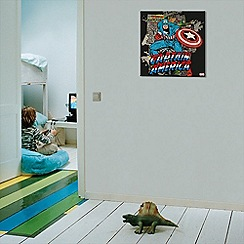 Marvel - Captain America Canvas