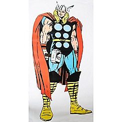 Marvel - Multicoloured Marvel Comics Life Size Thor Wall Sticker