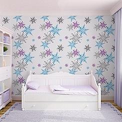 Disney - Disney Frozen Snowflake Wallpaper
